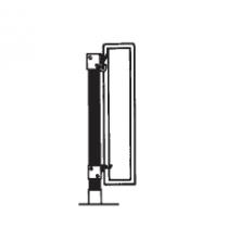 Вертикальные кронштейны Buderus WEMEFA STANDFIX 460-1 высота 300