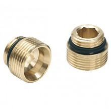 Комплект ниппелей REHAU для радиаторов и вентилей G1/2xG3/4, 2 шт.